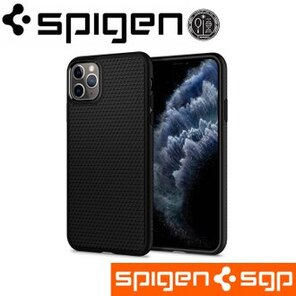 Spigen iPhone 11 Pro Liquid Air-手機保護殼 黑